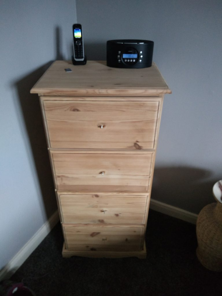Diane Straughan chest of drawers