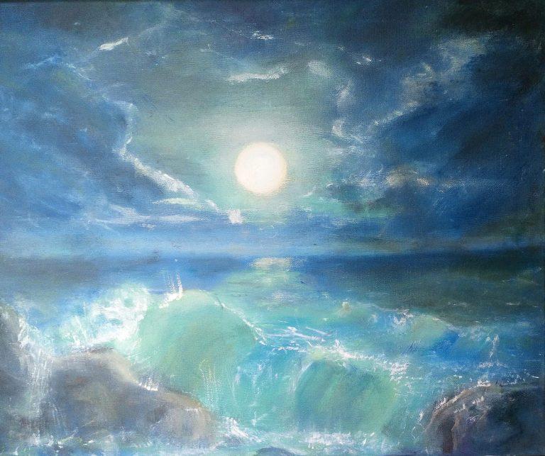 Linda Granville painting